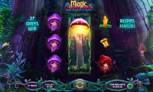 Magic Mushroom free slot