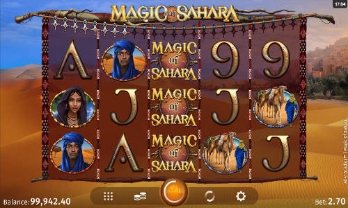 Magic of Sahara free slot