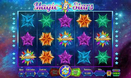 Magic Stars 5 free slot