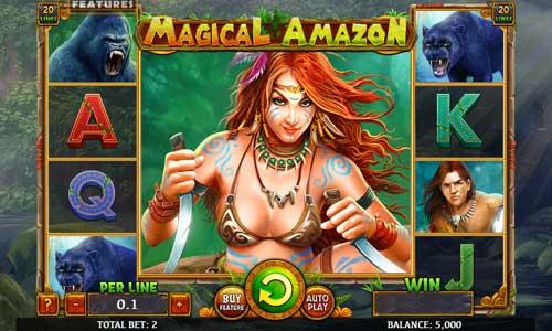 Magical Amazonwin both ways slot