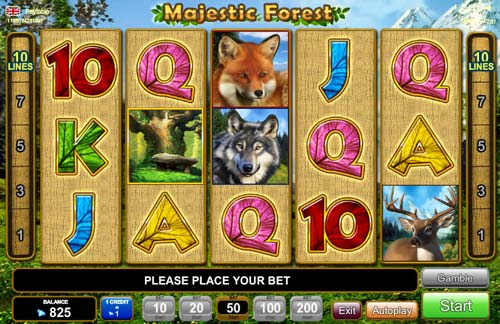 Majestic Forest free slot