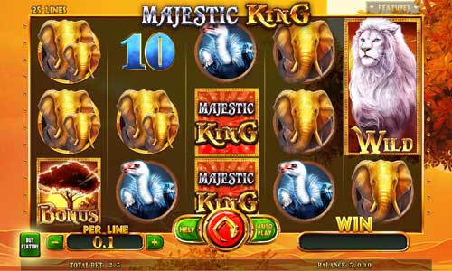 Majestic King Expanded Edition free slot
