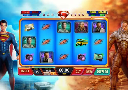 Man of Steel free slot