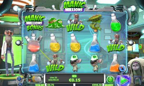 Manic Millions free slot