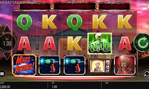 Mars Attacksexpanding reels slot