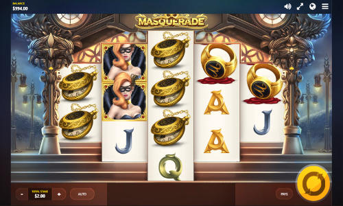 Masquerade free slot