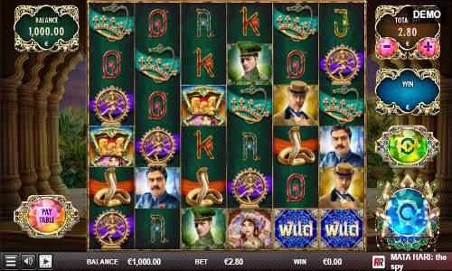 Mata Hari The Spycolossal symbols slot