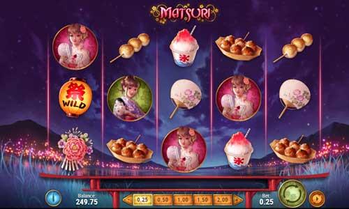 Matsuri free slot