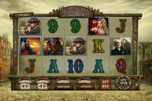 Maverick Saloon free slot