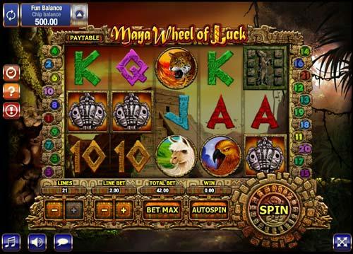 Maya Wheel of Luck free slot