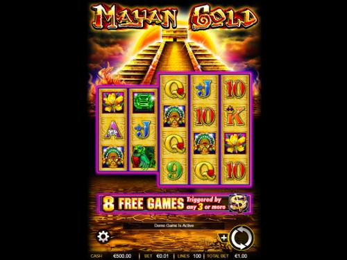 Mayan Gold free slot