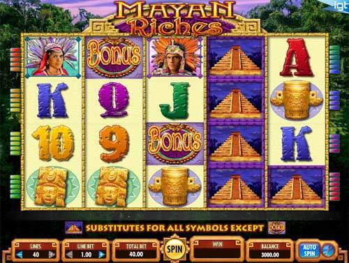 Mayan Riches free slot