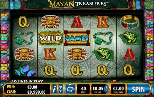 Mayan Treasures free slot