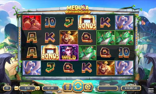 Medusa Fortune and Glory free slot