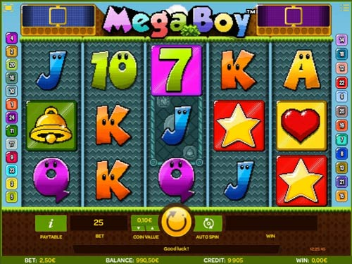 Mega Boy free slot