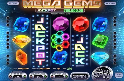 Mega Gems free slot