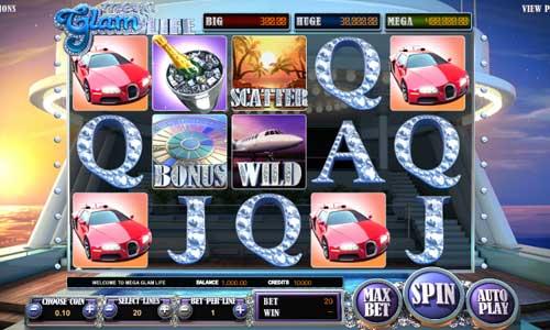 Mega Glam Life casino slot