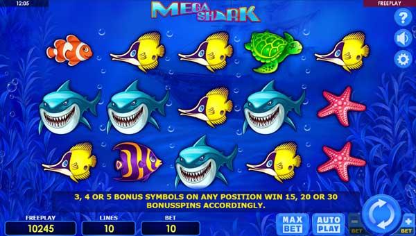 Mega Shark free slot