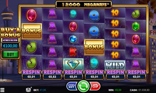 Megaways Respin casino slot