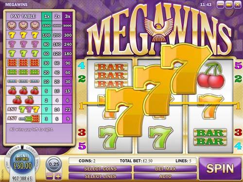 Megawins free slot