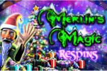 Merlins Magic Respins Christmas slot Nextgen Gaming