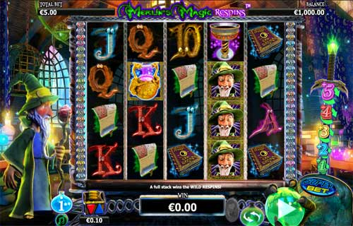 Merlins Magic Respins free slot