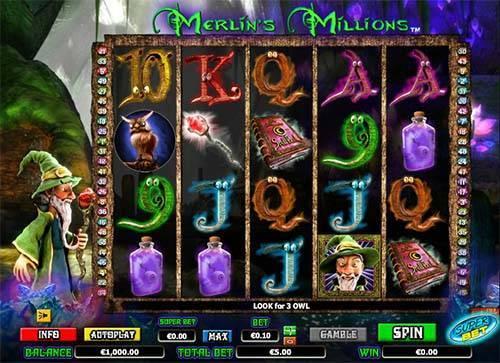 Merlins Millions free slot