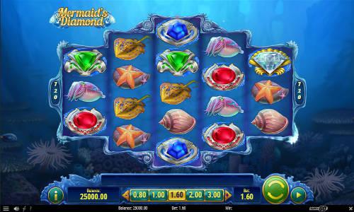 Mermaids Diamondwin both ways slot