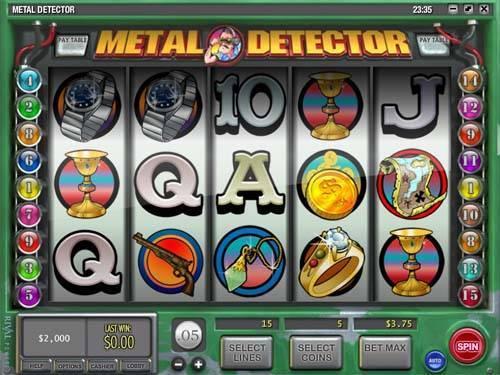 Metal Detector free slot
