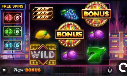 Miami Bonus Wheelsticky wilds slot