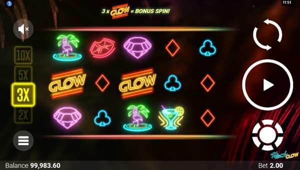 Miami Glowsticky wilds slot