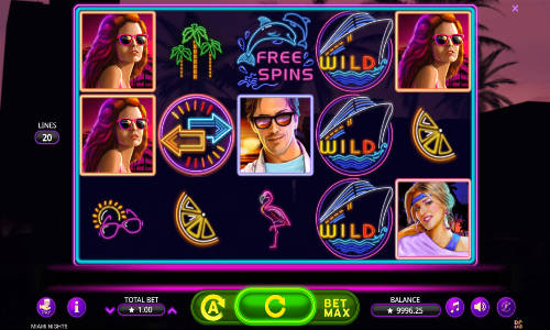 Miami Nights free slot