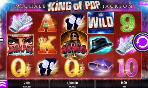 Michael Jackson King of Pop free slot