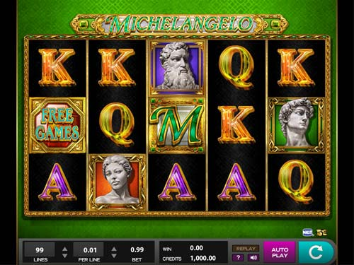 Michelangelo casino slot
