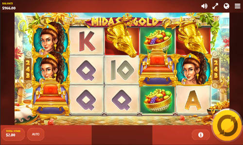 Midas Gold casino slot