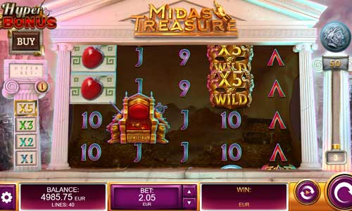 Midas Treasure casino slot