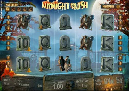 Midnight Rush free slot