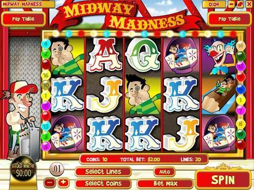 Midway Madness free slot