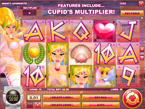 Mighty Aphrodite free slot