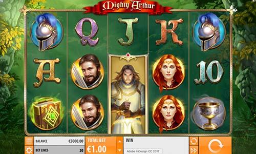 Mighty Arthur free slot
