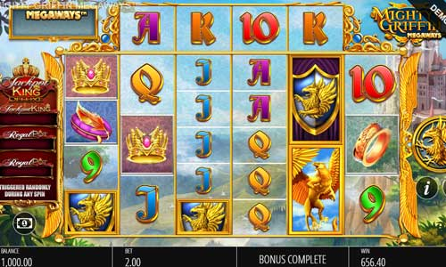 Mighty Griffin Megaways free slot