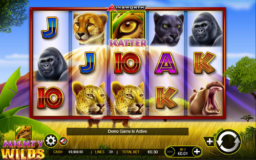 Mighty Wilds casino slot