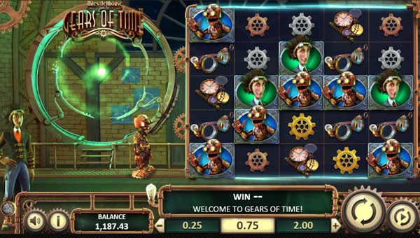 Miles Bellhouse and the Gears of Timecluster pays slot