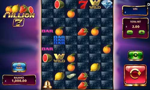 Million 7 free slot