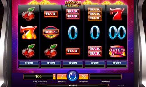 Million Coins Respin free slot