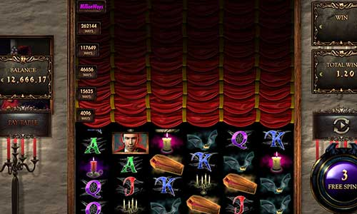 Million Dracula new slot