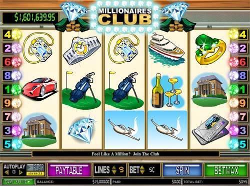 Millionaires Club 2 free slot