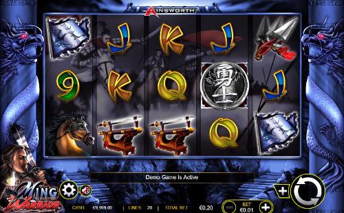 Ming Warrior free slot
