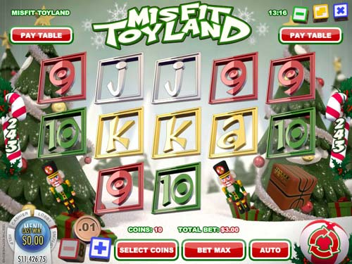 Misfit Toyland free slot