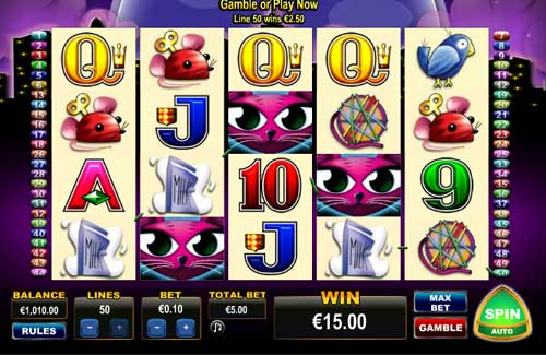 Miss Kitty free slot